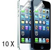 [10-Pack] Protections d'écran de haute qualité mat anti-reflets pour iPhone 5/5S