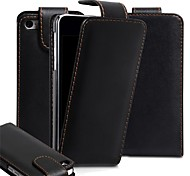 Solid Color PU Leather Cover Case for iPhone 4/4S (Assorted Colors)