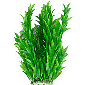 Decoración Plastic Plant Simular Verde Ornamento para Acuario