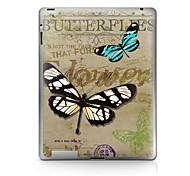 Modelo de mariposa Pegatina protectora para el iPad 1/2/3/4