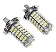 H7 120x3528SMD luce bianca a LED per faro lampadina (12V, 2pcs)
