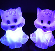 Cat Rotocast Color-changing Night Light