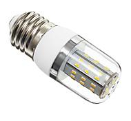Lampadine a pannocchia 48 SMD 3014 T E26/E27 4 W 350 LM Bianco caldo AC 85-265 V