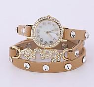 Femme Quartz Bande bracelet Jaune