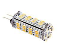 3W G4 LED Mais-Birnen T 57 SMD 3014 339 lm Warmes Weiß DC 12 / AC 12 V