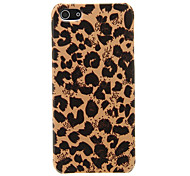For iPhone 5 Case Pattern Case Back Cover Case Leopard Print Hard PC iPhone SE/5s/5