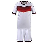 Men's Short Sleeve T-Shirt , Organic Cotton Sport Striped