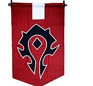 World of Warcraft A bandeira Cosplay Horde