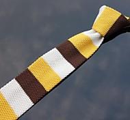 Classic Skinny multi-colore di maglia a strisce Cravatte XINCLUBNA ® (come pic show) 1pcs