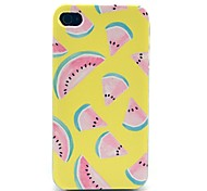 Yellow Watermelon Pattern Hard Case for iPhone 4/4S