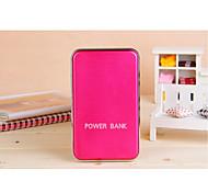48000mah múltiples salidas rojo batería externa solar para el iphone 6/6 más / 5 / 5s / samsung s4 / s5 / Nota 2