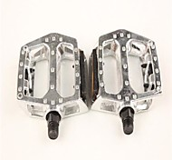 Lin Qun R Cycling Mountain Bike Pedal Article Reflective Silver Aluminum Alloy Belt