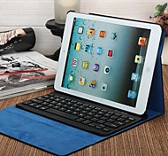 Bluetooth Keyboard PU Leather Case for IPad Air