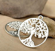 Eruner®29*25MM Alloy Life Tree Charms Pendants Jewelry DIY (5PCS)