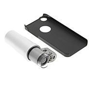 iPhone 5/S Cell Phone Case and 200 Times Magnifying Lens in Set