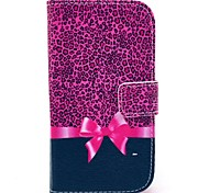 Leopard Bow Pattern Soft Case for Samsung Galaxy Core I8262