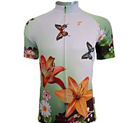 Getmoving® Cycling Jersey Women's Short Sleeve Bike Breathable / Quick Dry Jersey / Tops Spandex / Polyester Summer Cycling/Bike
