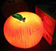 Forma di Apple plastica LED Night Light