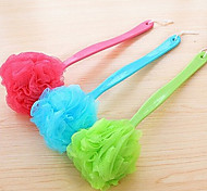 Colorful Long Handle Bath Brush
