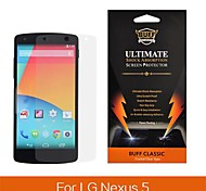 Angibabe Ultra Clear BUFF Explosion Proof Screen Protector Protective Film for LG Google Nexus 5