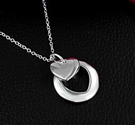 New Arrival Silver Plated Girl Friend Gift  Necklace