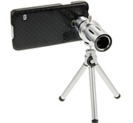 Fashion 12X Telephoto Lens with Tripod for Smartphone