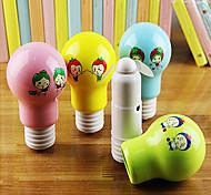 Lovely Bulb Shape Hand Holding Mini Electric Fan