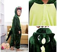 Cute Green Dinosaur Kids Kigurumi Pajamas Sleepwear