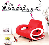 Singing Bird Pattern Wall Sticker(1PCS)
