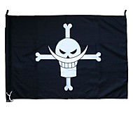 One Piece White Beard Edward Newgate Cosplay Flag