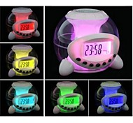 Timess ™ Digital LED colorido fantasia Projector Música Alarm Clock