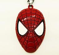 Super-herói Homem-Aranha Máscara Símbolo Colar Filme Cosplay Acessório