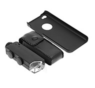 iPhone 5C Cell Phone Case and 100 Times Magnifying Lens in Set