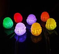expresiones coloridas Coway chino buda Maitreya budismo llevó luz de noche