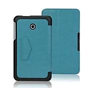 "urso tímido ™ caso capa de couro inteligente fino para asus fonepad 7 fe170cg fe170 7 ""polegadas tablet"