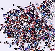 YeManNvYou®3000PCS Mixs Size Colorful Acrylic Diamond Nail Art Decorations