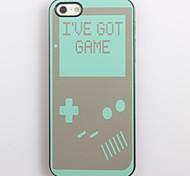 Tenho Game Design Alumínio Hard Case para iPhone 4/4S