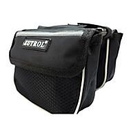 ZUTROL Mesh Black Cycling Frame Bag with Reflective Stripe