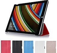 "Slim Folding Hard Shell Stand Leather Case Cover for Microsoft Surface Pro 3 12.0"" Tablet"