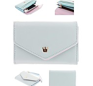 Women'S Multi Propose Envelope Wallet Purse for iPhone And Samsung