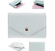 Multi des femmes Proposer enveloppe bourse de portefeuille pour iPhone et Samsung