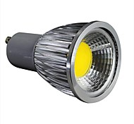 GU10 5 W 1 COB 450LM LM Cool White Dimmable Spot Lights AC 100-240 V