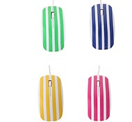 High-speed Stripe 1200DPI Optical USB2.0/1.1 Wired Mouse(Assorted Colors)