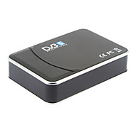 sintonizador de TV digital via satélite para maravilhosos programas de TV digital (black)