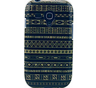 For Samsung Galaxy Case Pattern Case Back Cover Case Lines / Waves TPU Samsung S3 Mini