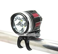 LT-4755 UCL Lens 4 Modes 3xCree XML T6 High quality Led Headlight(3000LM.Battery Pack.Black)