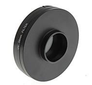 yuanbotong filtro uv cámara universal con la tapa de la lente para la lente de 58mm (1pcs)
