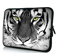 Elonno Tiger Head Neoprene Laptop Sleeve Case Bag Pouch Cover for 13'' Macbook Pro/Air Dell HP Acer