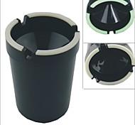 Carking ™ Cup Shaped glänzend Glow-in-the-Dark-Black Auto-Aschenbecher