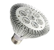 7W E26/E27 LED Par Lights PAR30 7 High Power LED 630-680 lm Warm White Dimmable AC 100-240 V